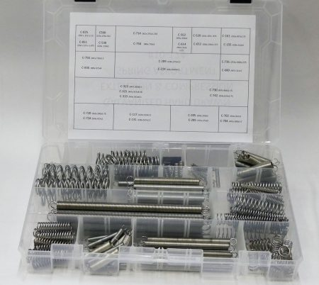 174 compression & extension spring assortment