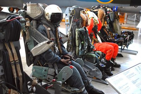 Compression springs are found in ejector seats